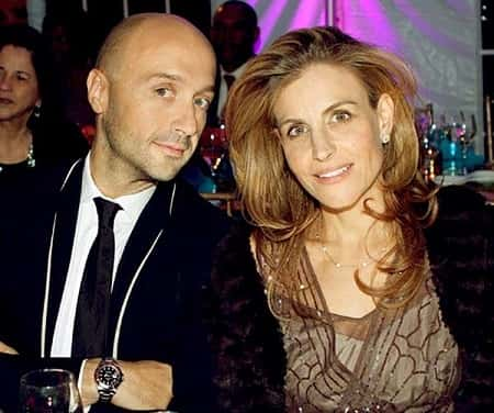 Deanna Bastianich and Joe Bastianich at the dinner party