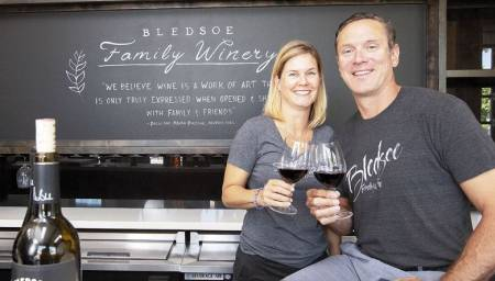 Maura Bledsoe and Drew Bledsoe are currently running the best red wine, Doubleback