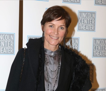 "Carey Lowell arrived at the Lincoln Center Benefit Performance of ""Camelot"""
