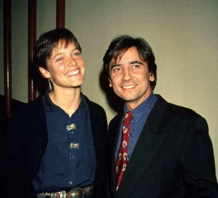 Carey Lowell and her second husband, Griffin Dunne
