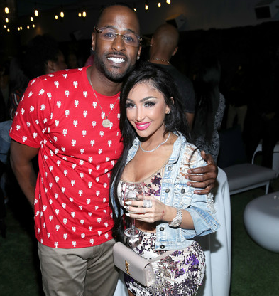 Jackie Long with his girlfriend Angel Brinks. partner, wife, relationship, girlfriend and dating records.