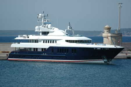 Sirona III by Oceanfast, owned by Micky Arison, with the net worth of $40 Million