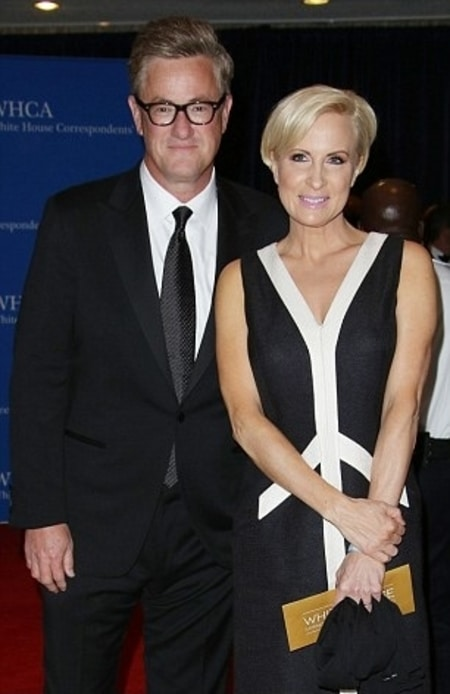 Mika with her current husband Joe Scarborough