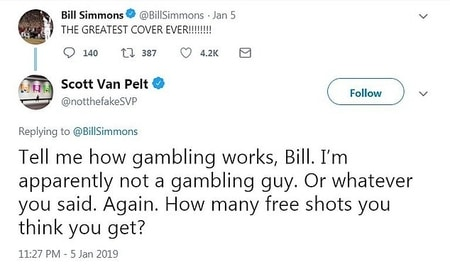 Twitter feuds of Bill Simmons and Scott Van Pelt