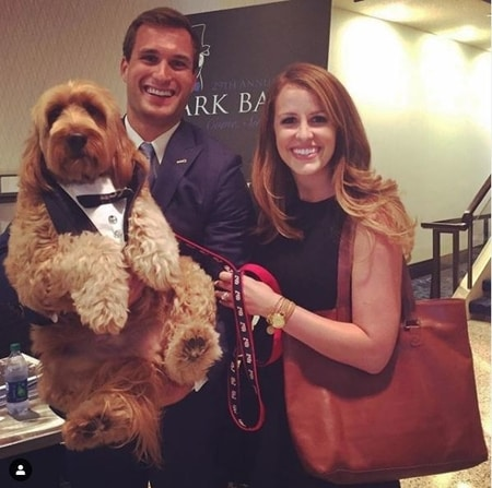 Kirk and Julie with their dog Bentley
