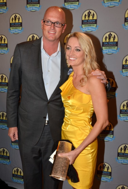 Scott Van Pelt with his wife Stephanie Van Pelt