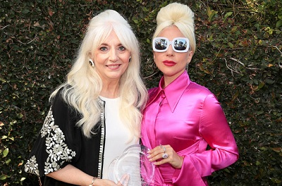 Cynthia with her daughter Lady Gaga