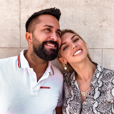 Natalia with her husband Caner Demir
