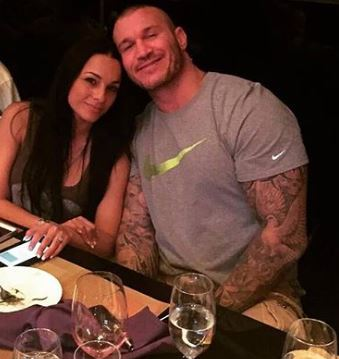 Brooklyn Rose Orton's father, Randy Orton and mother, Kim Marie Kessler