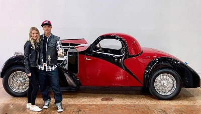 Chad making a custom car and named Bugatti for his fiance. Know about Chad's net worth, earnings, salary