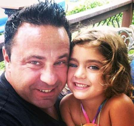 Audriana with her father. Know more about Audriana age, twitter, instagram, dance studio and competition and many more
