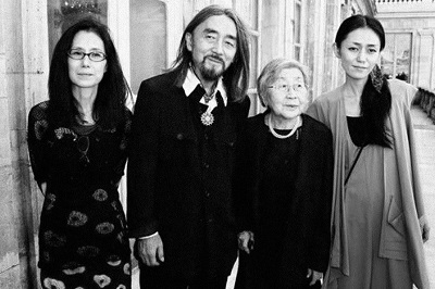 Yamamoto along with his wife and family members. Know about Yojhi's personal life, affairs, wife, children, marriage