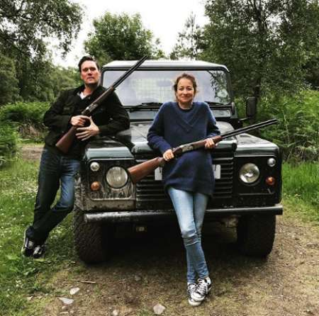 Leah and her friend on a hunt. Know more about about Leah Instagram, music, husband, marriage, marital affairs, and many more