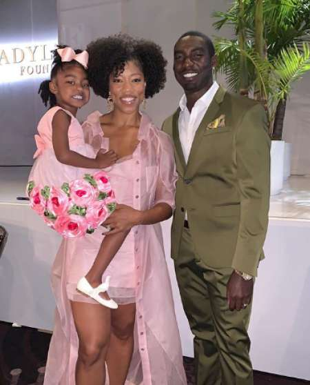 Morgan along with her hubby and daughter. know more about Morgan marriage, wedding date & venue, spouse, net worth and many more