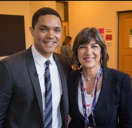 Amanpour with Travor Noah
