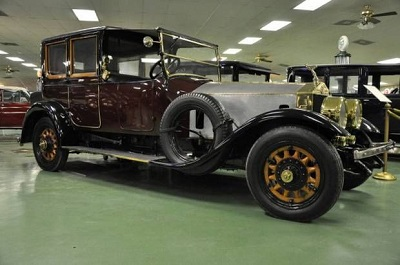 The 1913 Rolls Royce ghost once owned by the Vanderbilt family