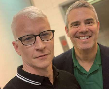 Anderson with Andy Cohen. Know more about Anderson datig, marriage, boyfriend, affairs, and other marital details