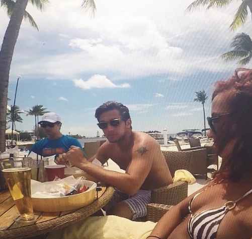 Brent Antonello enjoying his vacation with his girlfriend in the beach. Know more about Brent Antonello age, height, marriage, partner, wife, girlfriend, net worth, salary, bank balance, wealth and other valuable riches and belongings