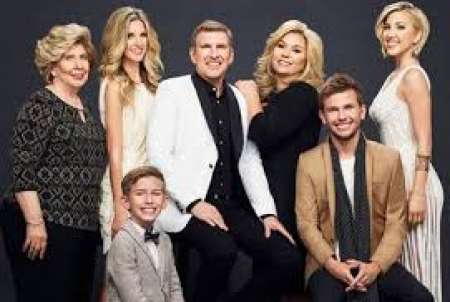 Todd Chrisley family picture