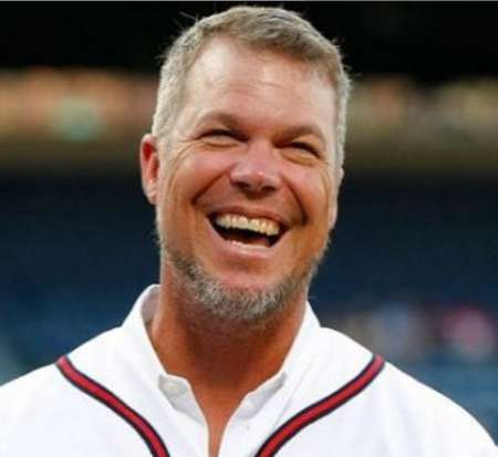 Sharon's former husband Chipper Jones. Know more about sharon marriage, chipper jones, instagram, husband, children and other marital details
