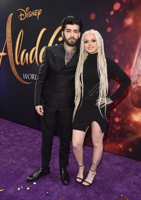 Zhavia and Zayn during the promotion for Alladin. Know about Ward's career, profession