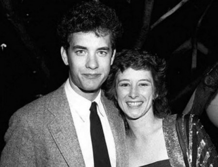 Tom Hanks and his first wife Samantha Lewes