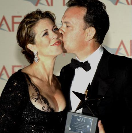 Tom Hanks kissed his wife Rita after he received the 30th AFI Life Achievement Award on June 12. Tom Hank marriage, wedding date and venue, wife, marital details as well as children