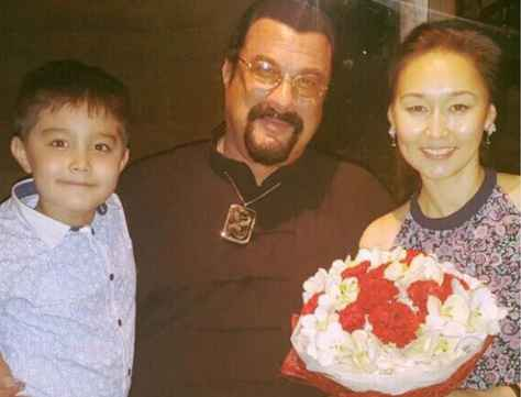 Kunzang Seagal Bio, Wiki, Age, Height, Body Measurement, Girlfriend, Partner, Relationship, Net Worth & Assets. Kunzang Seagal with his parents Steven Seagal and his wife Erdenetuya Batsukh