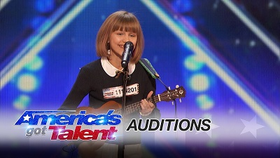 VanderWaal during her audition for the America's got Talent. Read about her career, profession