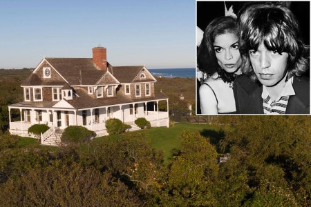 The Hamptons house where the Jaggers couple partied