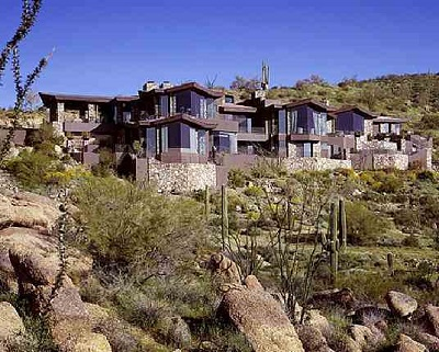 Seagal's house in Arizona