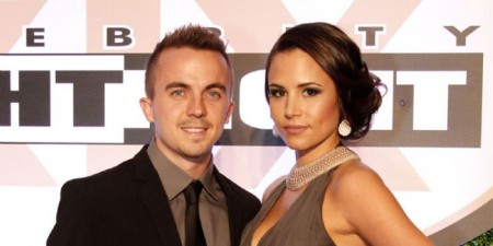 Frankie Muniz  with his former fiance Elycia Marie Turnbow