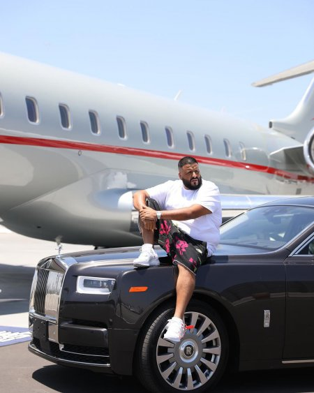 Millionaire DJ Khaled owns several luxury cars and real estates