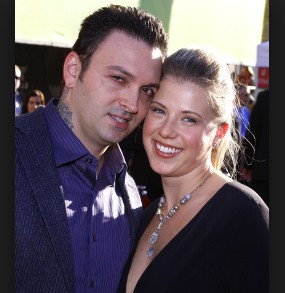 Image: Shaun Holguin with his former wife Jodie Sweetin.