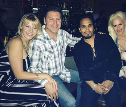 Image: Shaun Holguin and his wife ex-wife having fun with their friend in the club.
