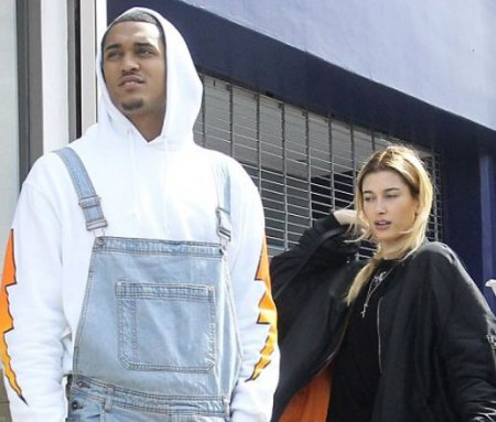Jordan Clarkson and Hailey Baldwin spotted by the paparazzi