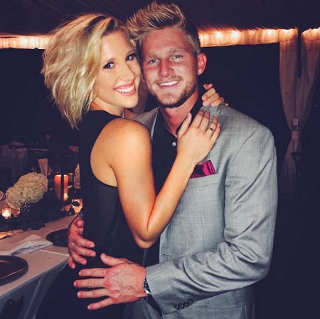 Savannah Chrisley with her ex-boyfriend Blaire Hanks