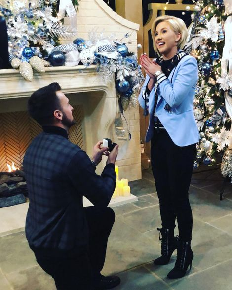 Nic Kerdiles and his fiance Savannah Chrisley engaged on 24 December 2018
