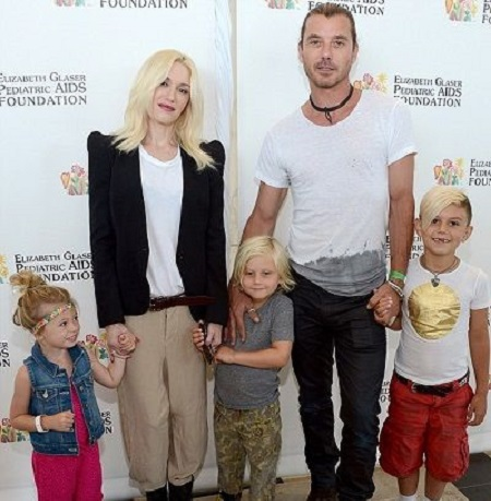 Gavin Rossdale's Children and Wife
