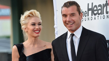 Gavin Rossdale and his former wife, Gwen Stefani