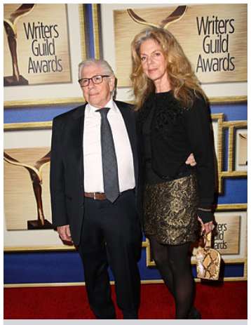 Carl Bernstein and Christine Kuehbeck at the Writers Guild Awards