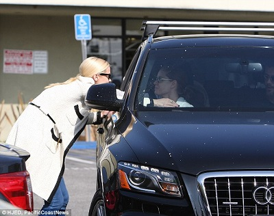 Darren's wife Amy in the Audi SUV. Know about Gallo's net worth, earnings, salary, income, total assets