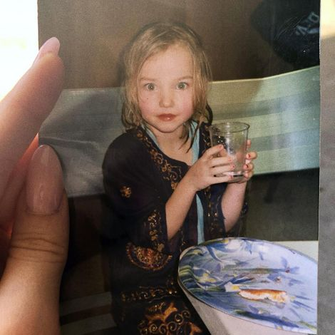 Dove Cameron's Childhood Picture