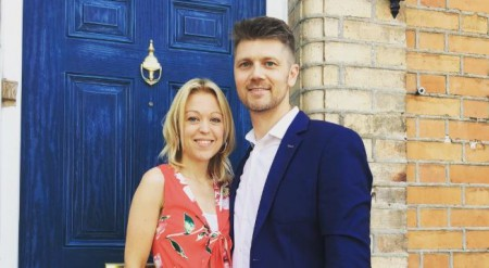 BBC's weather presenter, Bee Tucker with her husband; Know bee Tucker's married life with her income and net worth
