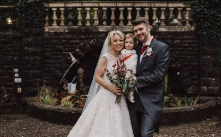 Bee Tucker at her wedding; Know about Bee Tucker's married, Husband, and Kids