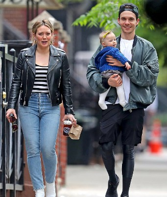 Matthew Koma with his fiancee and daughter. relationship, girlfriend, partner, baby, daughter