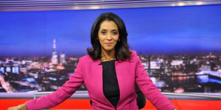 BBC radio and Tv journalist, Zeinab Badawi