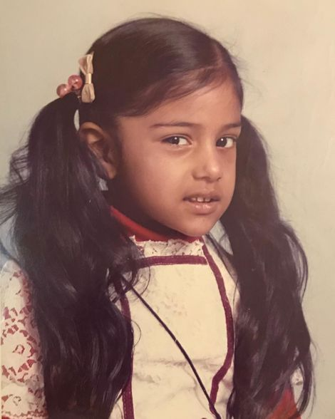 Tina Daheley at her early age