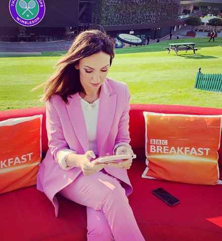 Sally Nugent in between her work. net worth, assets, earning, income