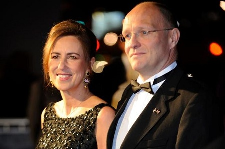 Alan Clements with his wife, Kirsty Wark.Know more about Alan's wedding date, married life and more.